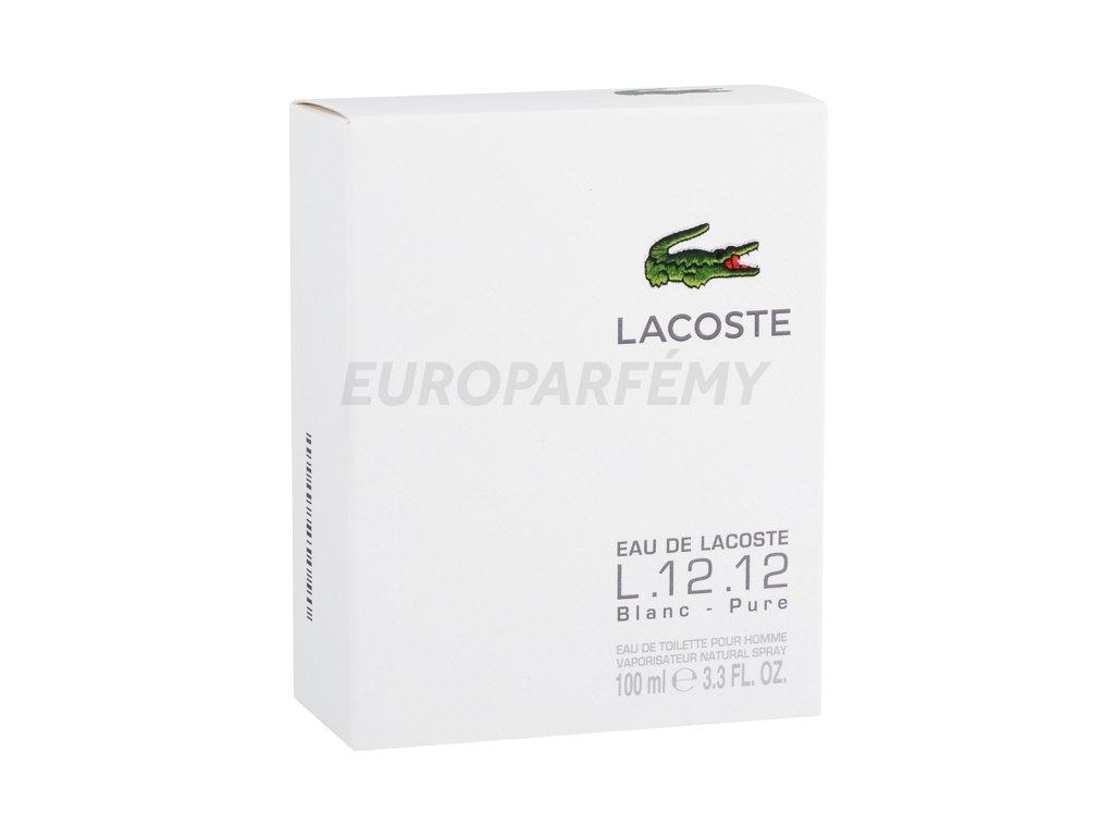 c2946bf4aa Lacoste Eau De Lacoste L.12.12 Blanc toaletní voda za nejlepší cenu ...