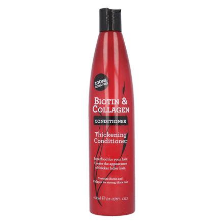 Xpel Biotin & Collagen kondicionér pro dojem plnějších vlasů 400 ml pro ženy