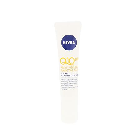 Nivea Q10 Plus oční krém pro viditelnou redukci vrásek 15 ml pro ženy
