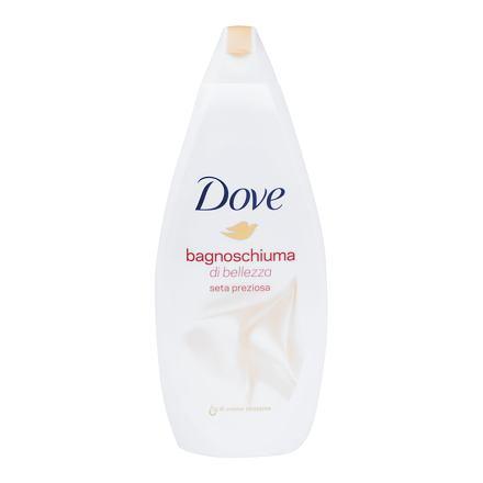 Dove Silk Glow pečující pěna do koupele 700 ml pro ženy