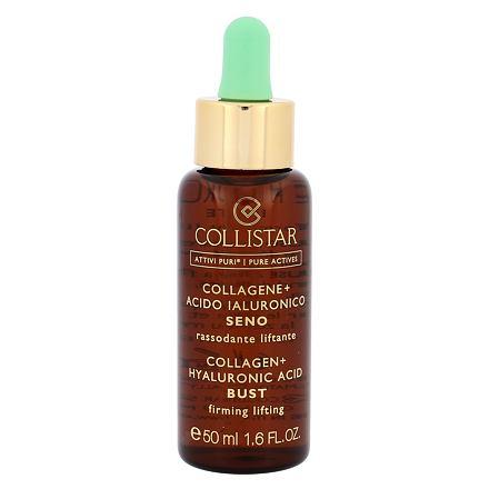 Collistar Pure Actives Collagen + Hyaluronic Acid Bust zpevňující péče na poprsí a dekolt 50 ml