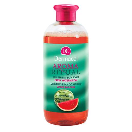 Dermacol Aroma Ritual Fresh Watermelon zvláčňující pěna do koupele 500 ml pro ženy