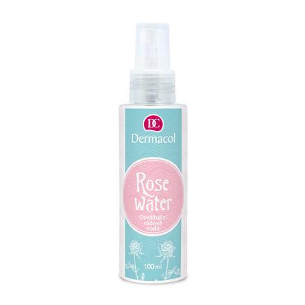 Dermacol Rose Water osvěžující růžová voda 100 ml pro ženy