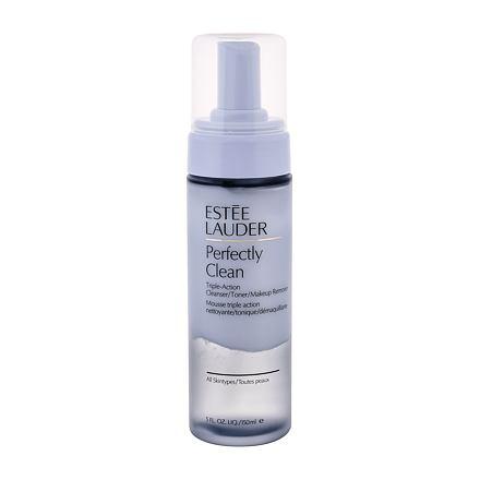 Estée Lauder Perfectly Clean Triple Action Cleanser dvoufázová čisticí pěna 150 ml pro ženy