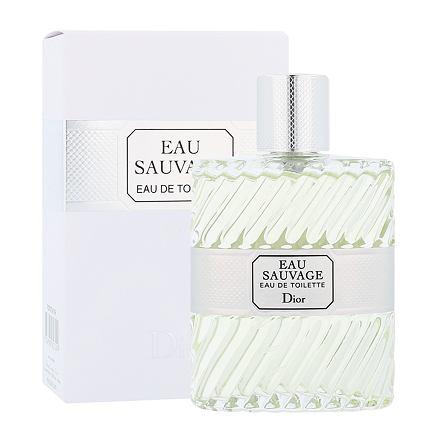 Christian Dior Eau Sauvage toaletní voda bez rozprašovače 100 ml pro muže