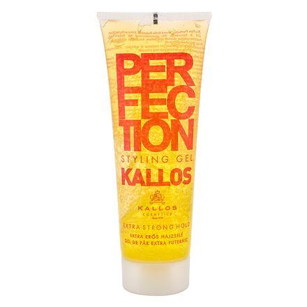 Kallos Cosmetics Perfection Extra Strong extra silný gel na vlasy 250 ml pro ženy