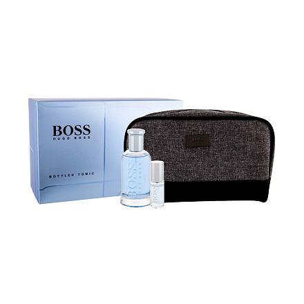 HUGO BOSS Boss Bottled Tonic sada toaletní voda 100 ml + toaletní voda 8 ml + kosmetická taška pro muže