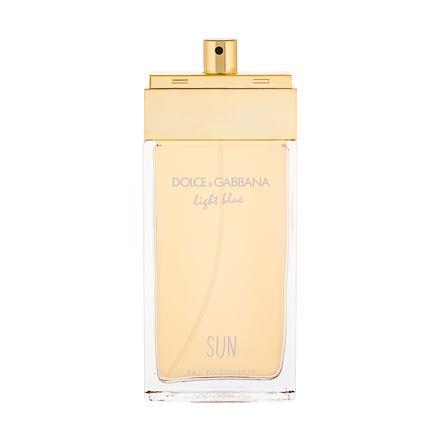 Dolce&Gabbana Light Blue Sun toaletní voda 100 ml Tester pro ženy