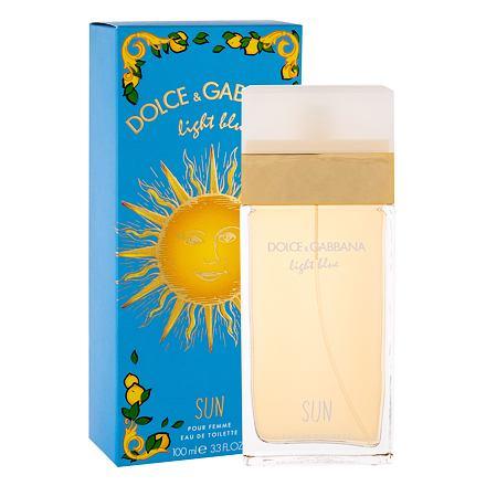Dolce&Gabbana Light Blue Sun toaletní voda 100 ml pro ženy