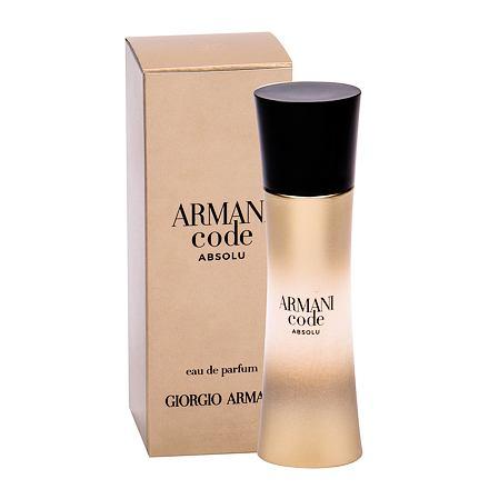 Giorgio Armani Code Absolu parfémovaná voda 30 ml pro ženy