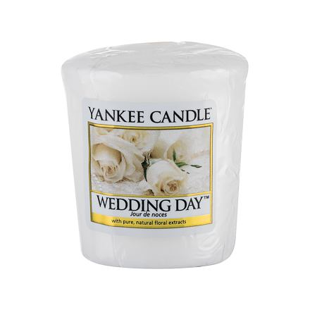 Yankee Candle Wedding Day vonná svíčka 49 g