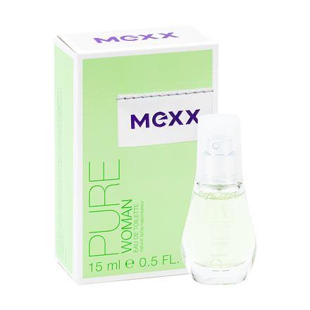 Mexx Pure Woman toaletní voda 15 ml pro ženy