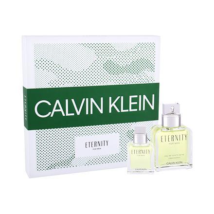 Calvin Klein Eternity sada toaletní voda 100 ml + toaletní voda 30ml pro muže