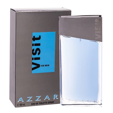 Azzaro Visit For Men toaletní voda 100 ml pro muže