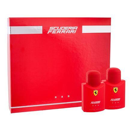 Ferrari Scuderia Ferrari Red sada toaletní voda 75 ml + voda po holení 75 ml pro muže