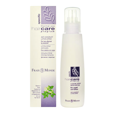 Frais Monde Hair Care vlasová voda ve spreji proti lupům 125 ml pro ženy
