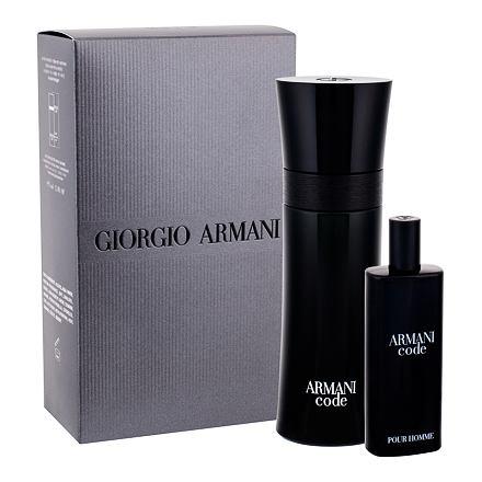 Giorgio Armani Armani Code Pour Homme sada toaletní voda 75 ml + toaletní voda 15 ml pro muže