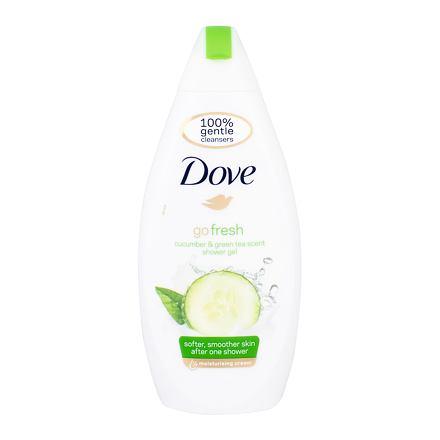 Dove Go Fresh Cucumber osvěžující sprchový gel 500 ml pro ženy