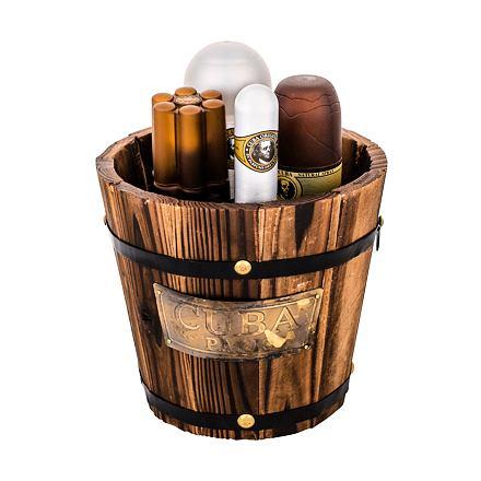 Cuba Gold sada toaletní voda 100 ml + voda po holení 100 ml + deodorant 200 ml + toaletní voda 35 ml pro muže