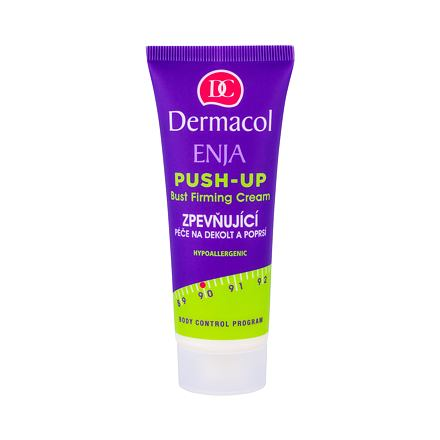 Dermacol Enja Push-Up Bust Firming Cream zpevňující péče na dekolt a poprsí 75 ml pro ženy