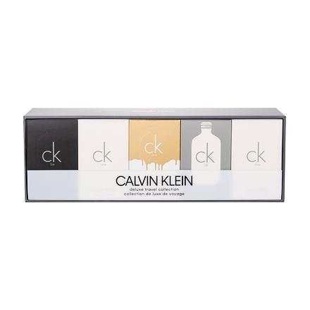 Calvin Klein Travel Collection sada toaletní voda CK One 2x 10ml + toaletní voda CK Be 10 ml + toaletní voda CK All 10 ml + toaletní voda CK One Gold 10 ml unisex