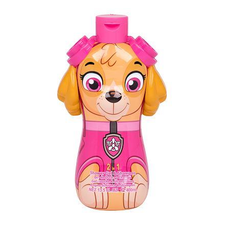 Nickelodeon Paw Patrol Skye sprchový gel a šampon 2v1 400 ml pro děti