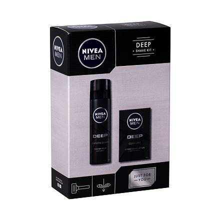 Nivea Men Deep Comfort sada voda po holení 100 ml + pěna na holení 200 ml pro muže