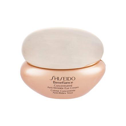 Shiseido Benefiance Concentrated vyhlazující oční krém 15 ml pro ženy