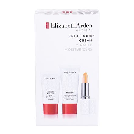 Elizabeth Arden Eight Hour® Cream Skin Protectant sada tělový balzám 15 ml + balzám na rty SPF15 3,7 g + krém na ruce 30 ml pro ženy