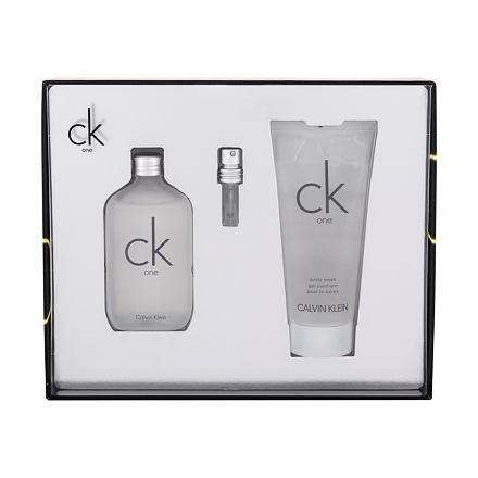 Calvin Klein CK One sada toaletní voda 50 ml + sprchový gel 100 ml unisex