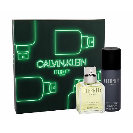 Calvin Klein Eternity sada toaletní voda 100 ml + deodorant 150 ml pro muže