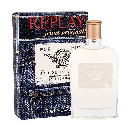 Replay Jeans Original! For Him toaletní voda 75 ml pro muže