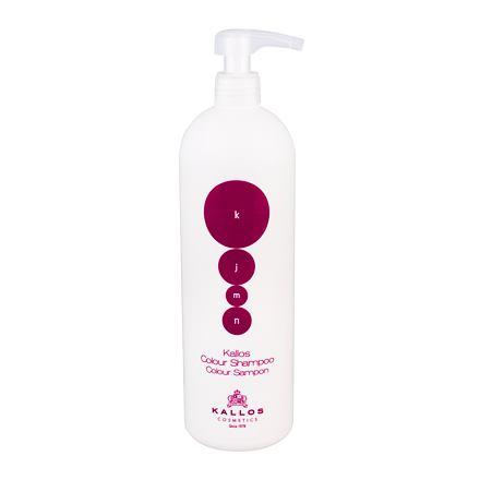 Kallos Cosmetics KJMN Colour šampon pro barvené vlasy 1000 ml pro ženy