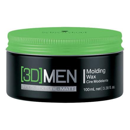 Schwarzkopf 3DMEN tvarující vosk na vlasy 100 ml pro muže