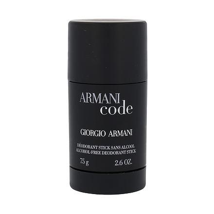 Giorgio Armani Armani Code Pour Homme deostick bez obsahu hliníku 75 ml pro muže