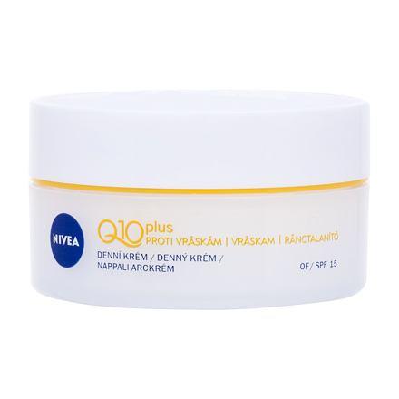 Nivea Q10 Plus SPF15 protivráskový krém pro normální až suchou pleť 50 ml pro ženy