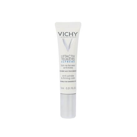 Vichy Liftactiv Yeux Supreme protivráskový oční krém 15 ml pro ženy