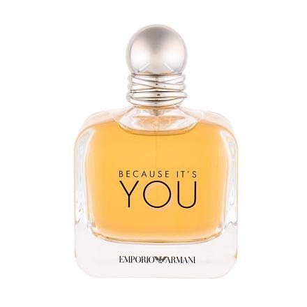 Giorgio Armani Emporio Armani Because It´s You parfémovaná voda 100 ml pro ženy