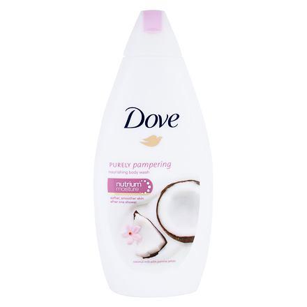 Dove Purely Pampering Coconut Milk vyživující sprchový gel 500 ml pro ženy