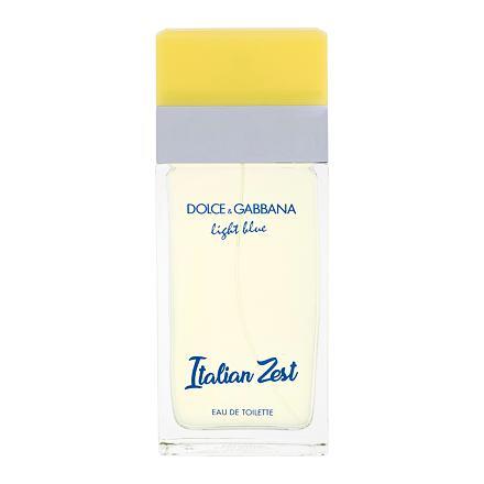 Dolce&Gabbana Light Blue Italian Zest toaletní voda 100 ml pro ženy