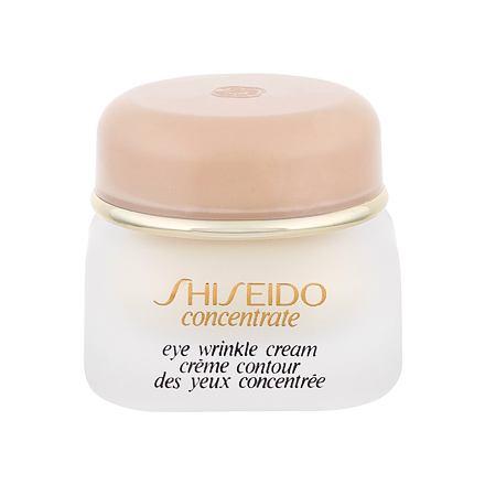 Shiseido Concentrate oční krém vyhlazující vrásky 15 ml pro ženy