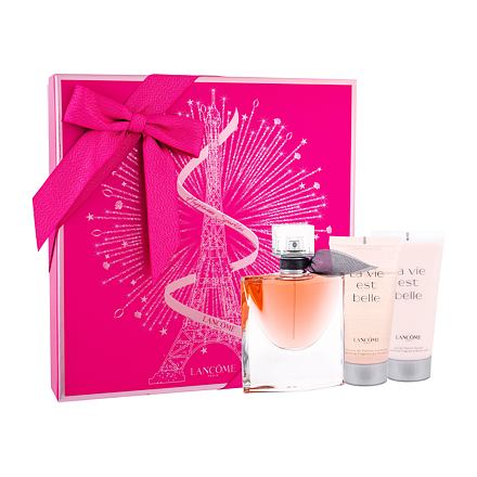 Lancôme La Vie Est Belle sada parfémovaná voda 50 ml + tělové mléko 50 ml + sprchový gel 50 m