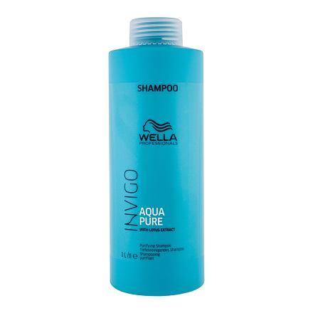 Wella Invigo Aqua Pure šampon pro hloubkové čištění 1000 ml pro ženy