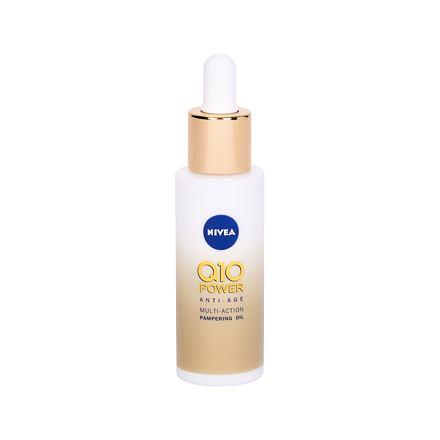 Nivea Q10 Power Anti-Age výživný olej proti vráskám 30 ml pro ženy