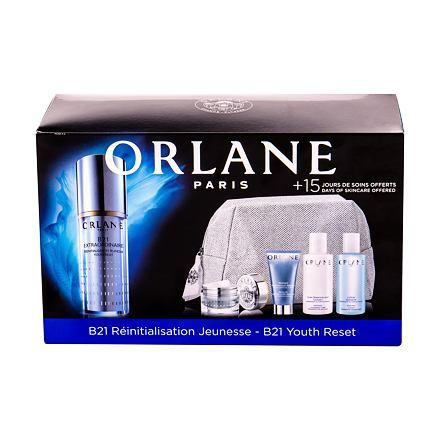 Orlane B21 Extraordinaire Youth Reset sada pleťové sérum 30 ml + denní pleťová péče 7,5 ml + pleťová maska Absolute Skin Recovery 15 ml + čisticí mléko 50 ml + čisticí pleťová péče 50 ml pro ženy