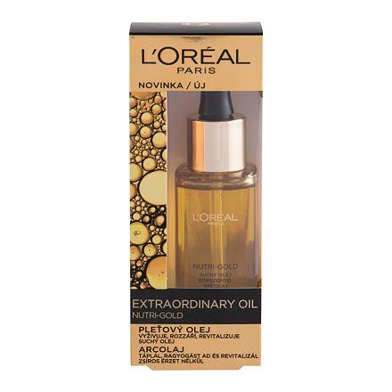 L´Oréal Paris Nutri-Gold Extraordinary Oil vyživující pleťový olej 30 ml pro ženy