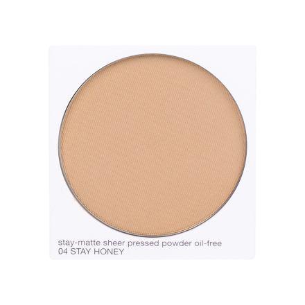 Clinique Stay-Matte Sheer Pressed Powder matující kompaktní pudr 7,6 g odstín 04 Stay Honey Tester pro ženy