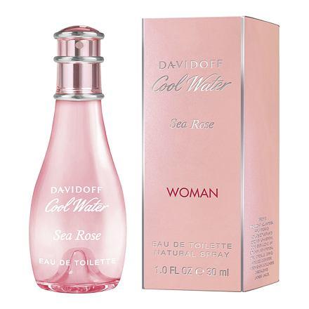Davidoff Cool Water Sea Rose Woman toaletní voda 30 ml pro ženy
