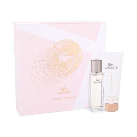 Lacoste Pour Femme sada parfémovaná voda 50 ml + tělové mléko 100 ml pro ženy