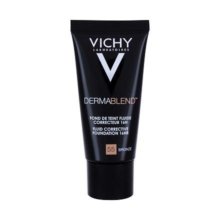 Vichy Dermablend™ Fluid Corrective Foundation tekuty korekční make-up SPF35 30 ml odstín 55 Bronze pro ženy